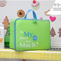 Hot Sale Women 5Pcs Set High Quality Clothing Storage Bag Portable Pouch Dust Bag Storage Bag