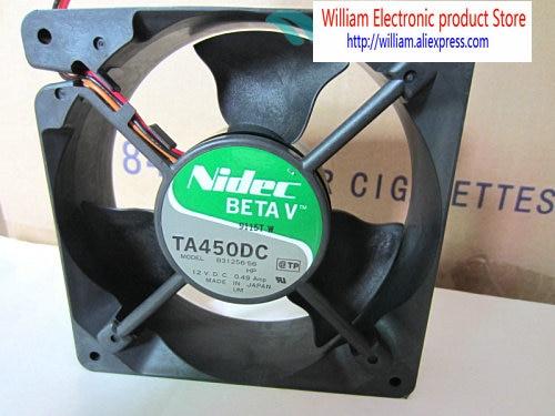 Original for Nidec B31256-56 12V 12038 0.49A for Dell servers dedicated cooling fan