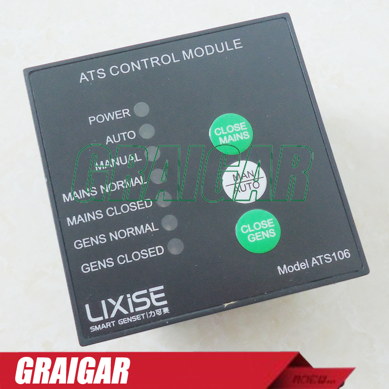 New generator controller auto start ats control panel ATS106  ATS Control Module can directly drive switching free shipping deep sea generator set controller module p5110 generator control panel replace dse5110