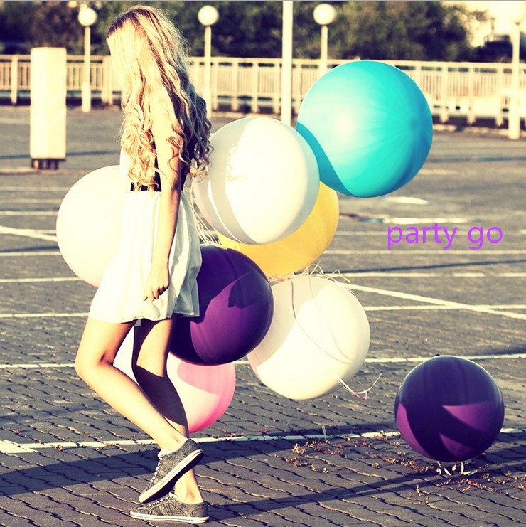 Wholesale Balloon 27g/pc 10pcs 90CM 36