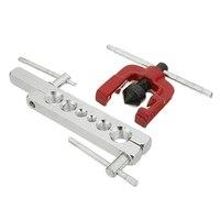 6 15mm 6 Dies Tubing Pipe Flaring Tools Set Kits Woodworking Metal Extension Tools 3 16