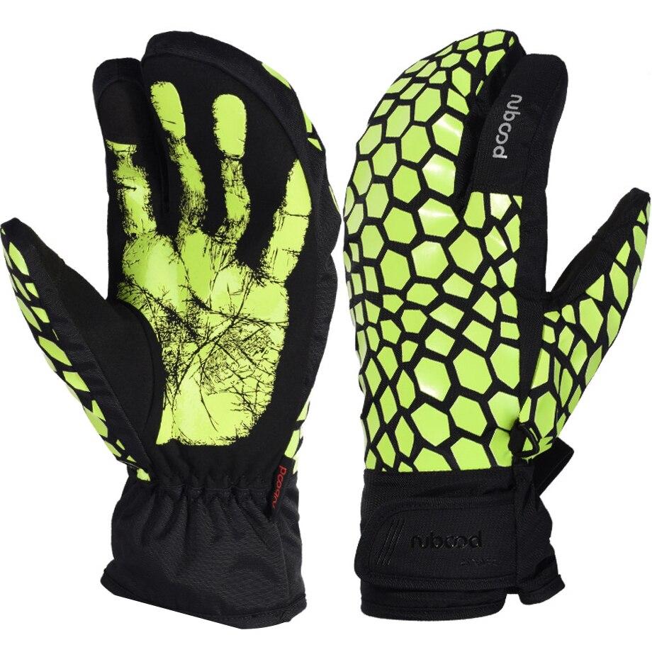 Hot Sale Winter Warm Ski Gloves Outdoor Sports Gloves Waterproof Anti Skid Snowboard Glove For Skiing Motorcycle Snowboarding