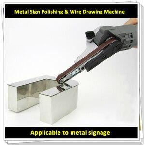Image 1 - Portatile Bordo Strumento di Lucidatura per il Metallo Lettere di Scanalatura AC 220V