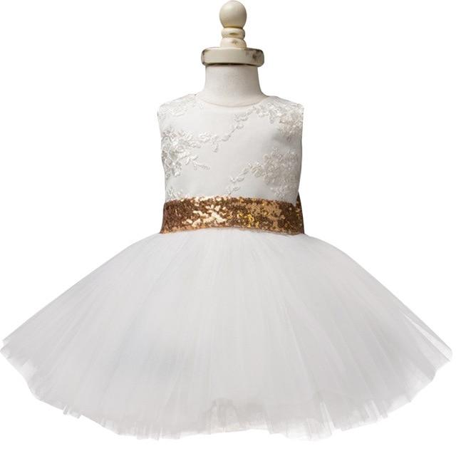 5de9fce94 AmzBarley Newborn Girls Tutu Dress Toddler Girls Lace Bowknot Dresses Kids  Party Birthday Wedding Ball Gown