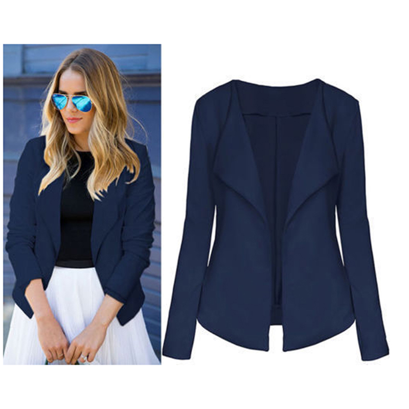 Bigsweety Elegant Women Blazer Jacket Female Casual Slim Fashion Suit Coat Ladies V Neck Long Sleeve Chic Cardigan Tops Outwear