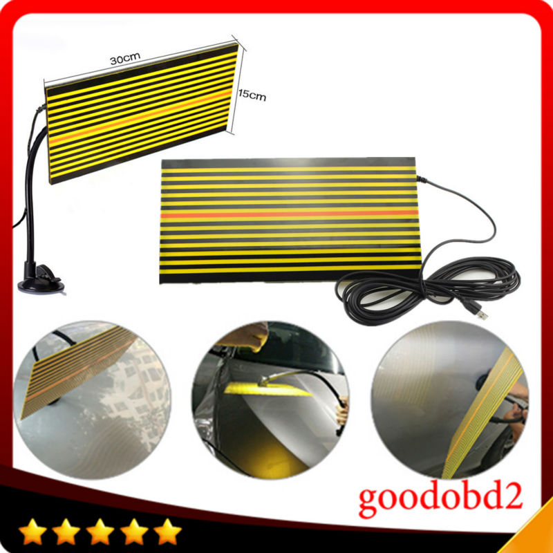 Car PDR tools Ferramentas led Line Board PDR Paintless Dent Repair Tool LED reflector board light Replaces Portable Dent Light цена
