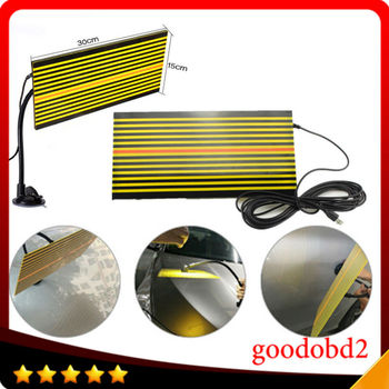 Car PDR tools Ferramentas led Line Board PDR Paintless Dent Repair Tool LED reflector board light Replaces Portable Dent Light цена 2017