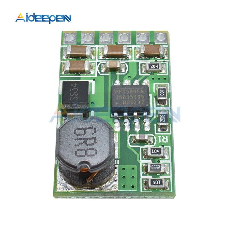 3.5A DC преобразователь модуль DC 4,5 в-27 в до 3 в 3,3 В 3,7 В 5 в 6 в 7,5 9 в 12 В понижающий стабилизатор напряжения плата трансформатор
