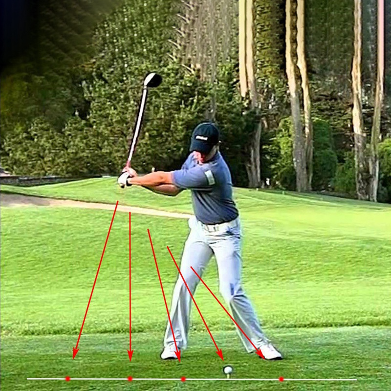 Golfe swing corrector golfe swing-plano de treinamento