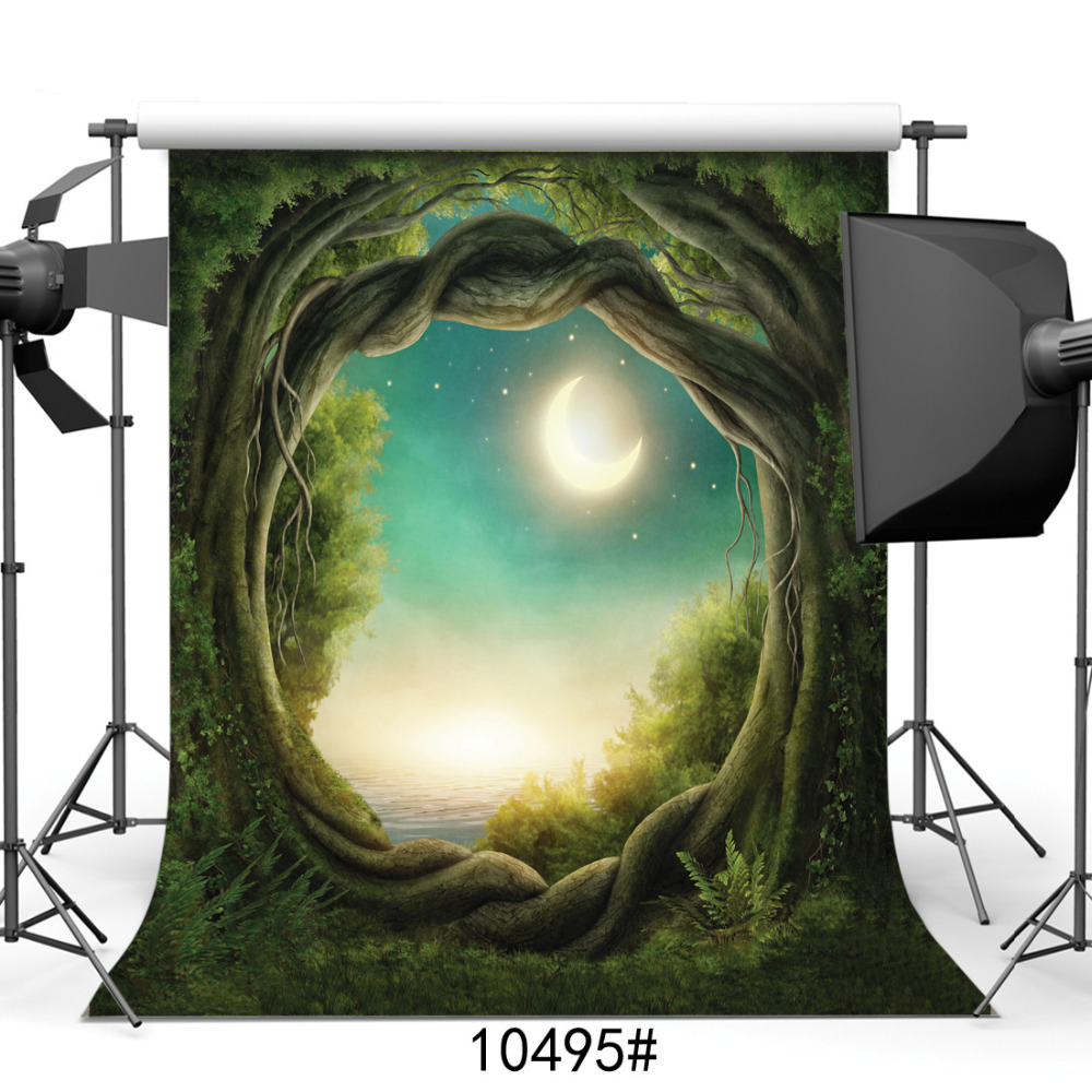 Фото Photography Backgrounds for Photo Studio Scenic Tree Branches Fary Vinyl Cloth Portrait Photo Backdrops for Wedding Kids Baby