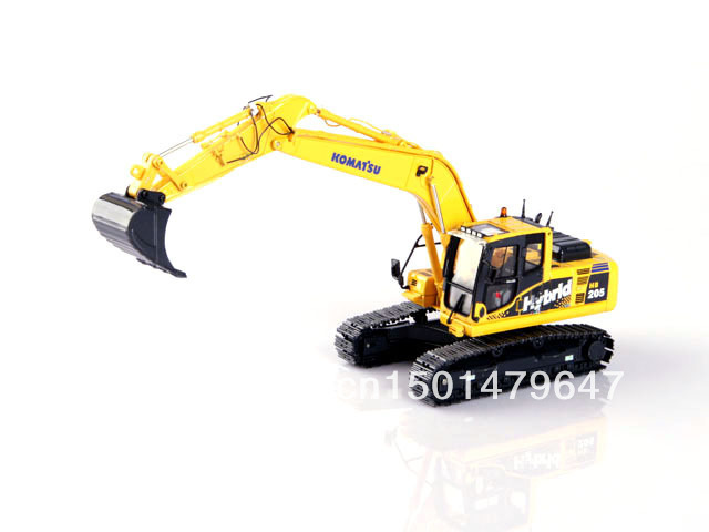 1/50 UH8080 Komatsu HB205 Hybird Excavator Construction vehicles toy