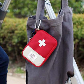 Portable Camping First Aid Kit Emergency Medical Bag Waterproof Car kits bag Outdoor Travel Survival kit Empty Home storage #ew image