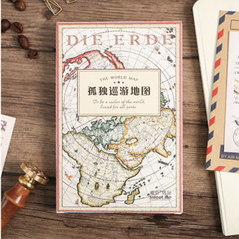 Infeel world travel map postcard greeting card letter paper infeel world travel map postcard greeting card letter paper bookmark 1 lot 1 pack 30 pcs in bookmark from office school supplies on aliexpress gumiabroncs Choice Image
