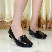 HORSE 2015 new women's flats shoes genuine leather  female shoes lady shoes for women casual shoes big size high quality 8089-G8