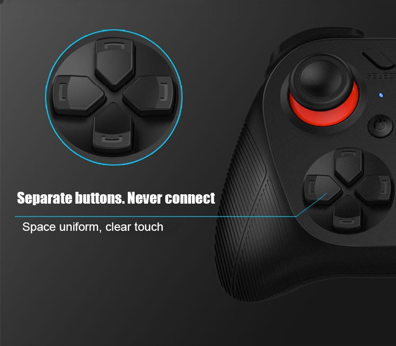 Hot!MOCUTE Wireless Bluetooth Games Handle 3.0 Controller Dual Joystick for Iphone and Android System & Laptop and VR 3D Glasses 11