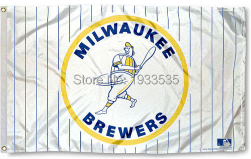 MLB Flag for Milwaukee Brewers