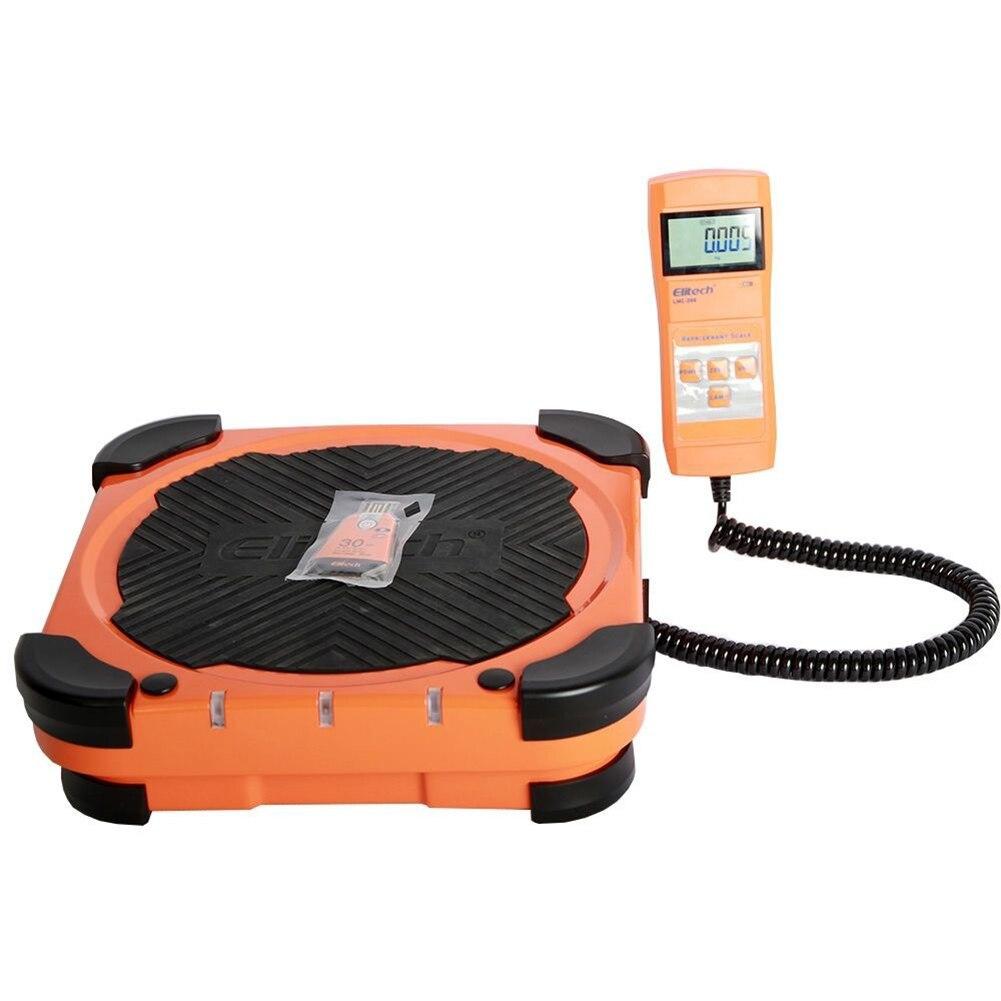 Elitech LMC200 220lbs Electronic Refrigerant Charging Digital Weight Scale цена и фото