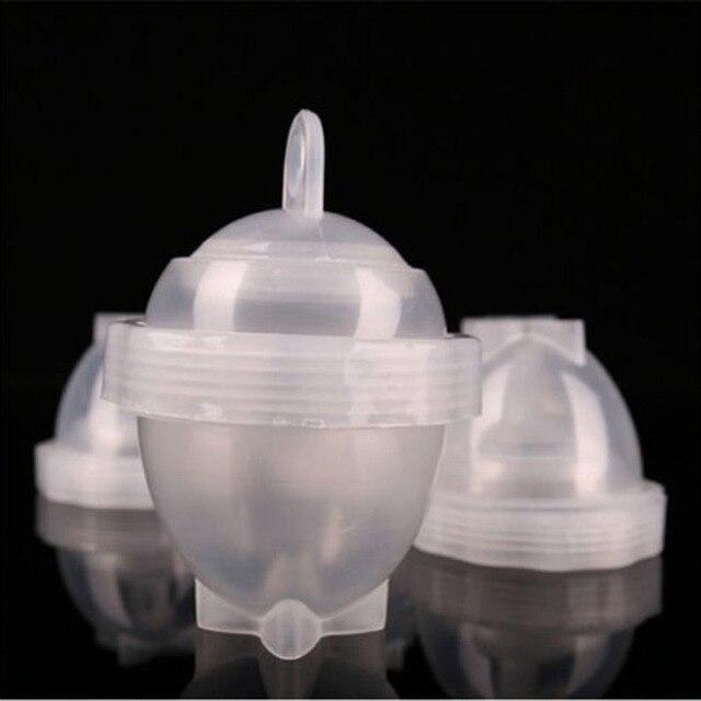 7 Pcs/Set Egg Tool with Separator Egg Boiler Cooker Transparent Silicone 1
