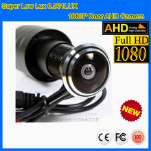 CCTV 1.78mm Fisheye Lens Wide Angle 1080P 2MP Mini AHD Camera Fisheye Cat Eyes Door AHD Camera For Security Surveillance System