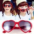 Moda Retro amor espelho óculos de sol mulheres grife multicolor óculos de sol branco feminino vermelha em forma de coração de óculos de sol feminino
