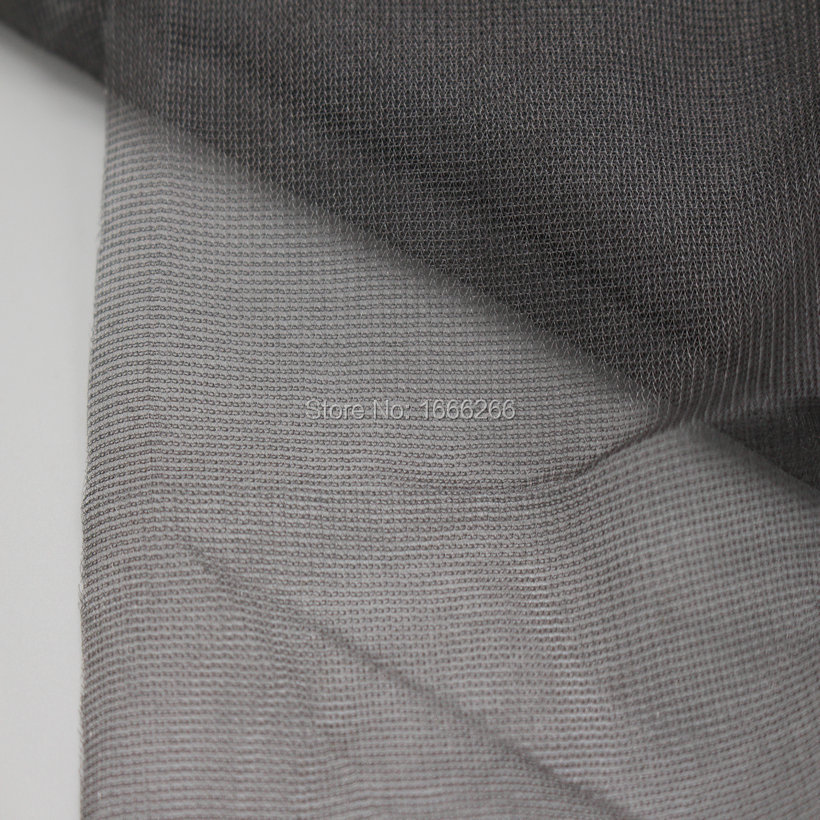 Anti-radiation Shielding Fabric 100% Silver fiber Fabric used for home textile/bags/Mosquito net/ curtain