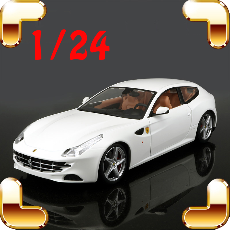 Christmas Gift 250GTO 166MM FF 1/24 Model Metal Car Collection Alloy Vehicle Cool Showcase Sports Cars Present For Fans Diecast christmas gift aurelia b24 1 18 model diecast car collection alloy table decoration toys classic cars scales present for fans