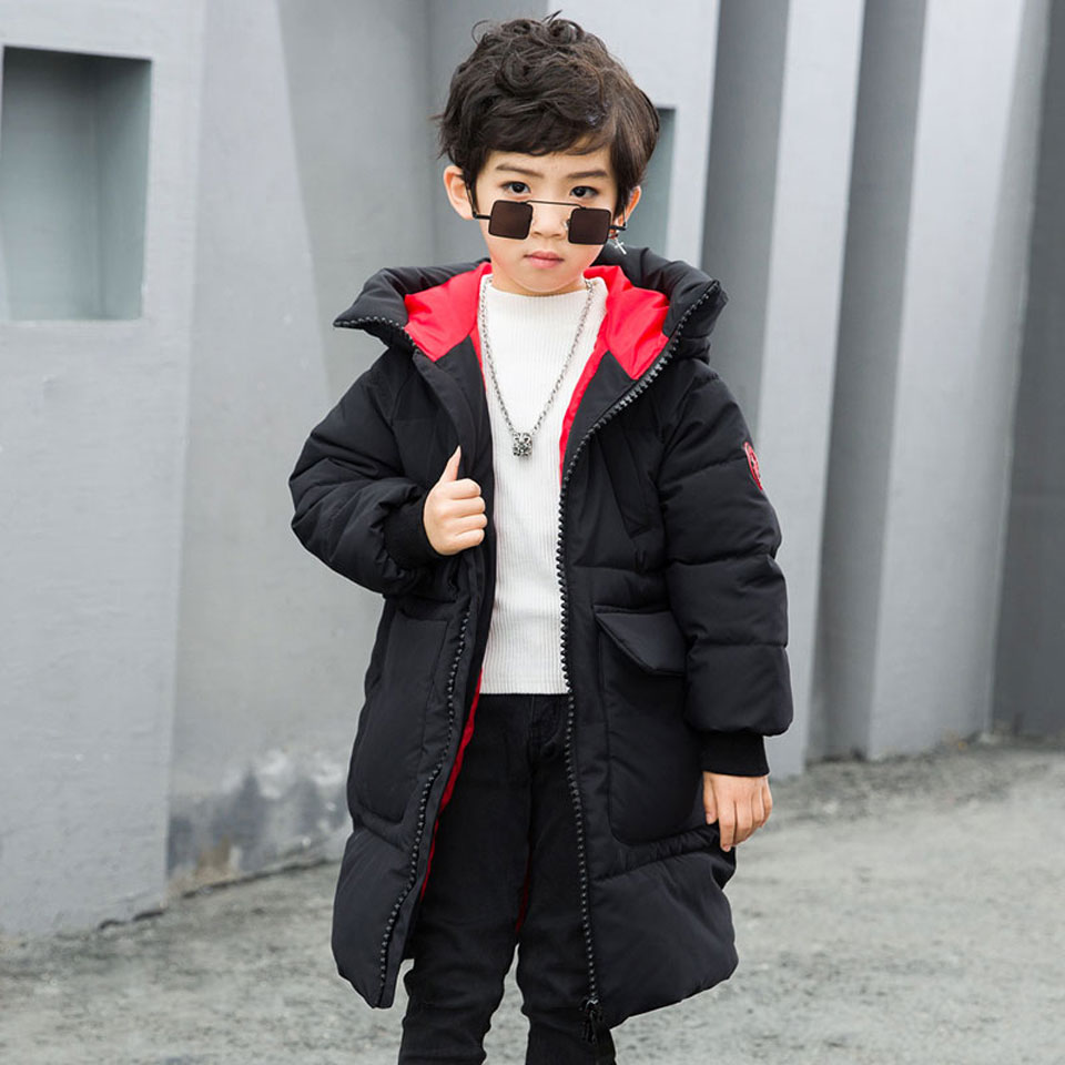 2018 New Arrival Winter Children Thickening Warm Down Jackets Girls Long Section Hooded Coats Boys Fashion Big Hoodie Jacket2018 New Arrival Winter Children Thickening Warm Down Jackets Girls Long Section Hooded Coats Boys Fashion Big Hoodie Jacket