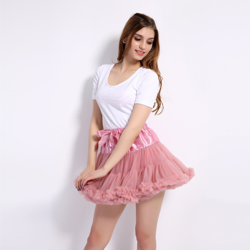 2018 Fashion Princess Fairy Skirts Women Bustle Women Tutu Skirts Adult Female Faldas Ca ...