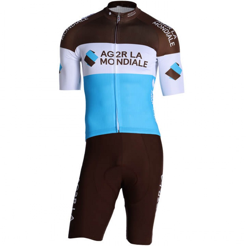 2019 pro team AG2R one piece cycling jersey skinsuits bike bodysuits MTB Ropa Ciclismo Bicycle speedsuit