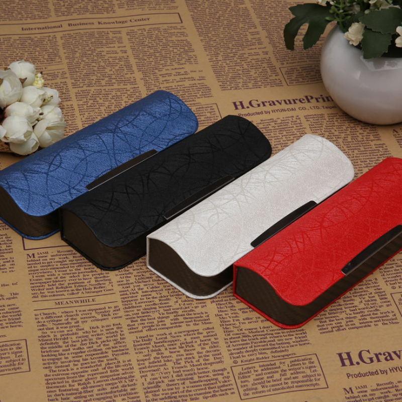 Fashion Square Glasses Case For Men And Women Portable High-grade Brushed Texture Glasses Box Reading Glasses Sunglasses Box