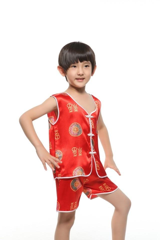 Online Shop kidschildrensbaby summer sleeveless faux silk satin ...