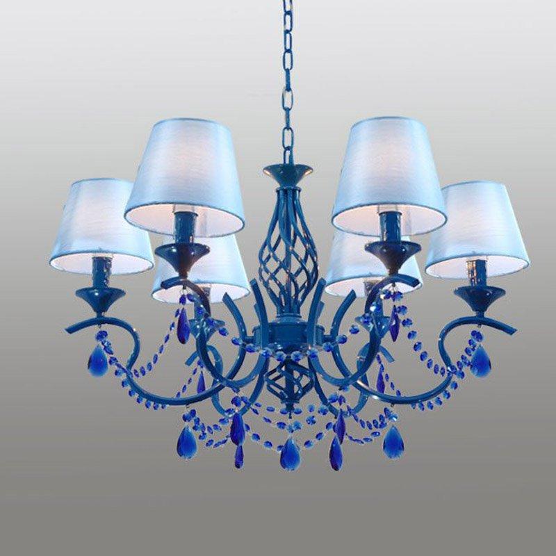 Mittelmeer Kristall Himmel Blau Wohnzimmer Kronleuchter Luxus ...