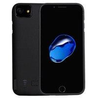 Ince Harici iphone 6 6 s 7 4.7 inç için 5800 mAh Şarj Edilebilir Pil Kutusu Koruyucu Meyilli Vaka bankası kılıf iPhone6 için/6 s/7