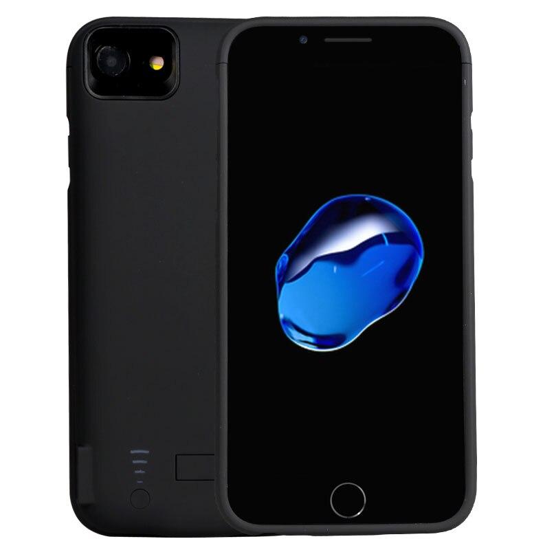 Цена за Тонкий внешний для iPhone 6 6 S 7 4.7 дюймов 5800 мАч Перезаряжаемые Батарея Защитный чехол Корпус тесто Bank чехол для iPhone6 /6 s/7