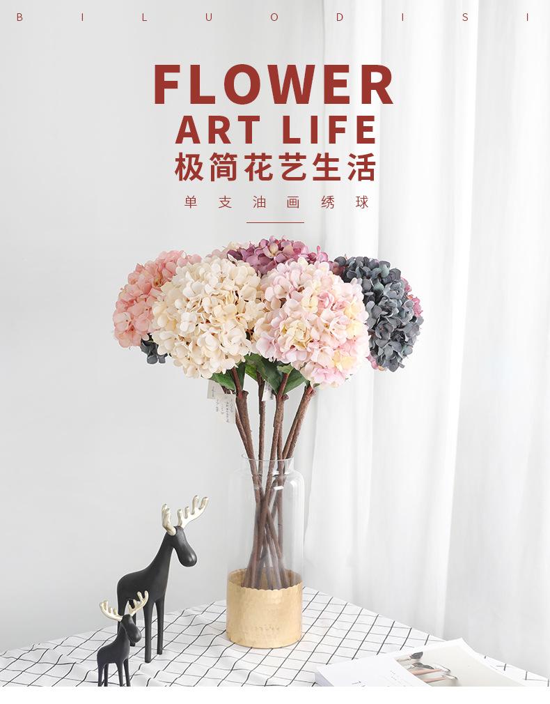 Buatan Sutra Bunga Dekorasi 2