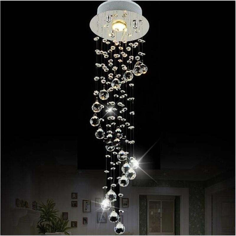 Modern lustre LED Crystal chandelier lighting Lamp For Living Room Cristal avizeler chandeliers ceiling Pendant Hanging free shipping l100cm w20cm h150cm crystal chandelier modern living room kroonluchter lamparas de cristal led pendant lighting