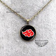 Naruto Design Ball Necklace