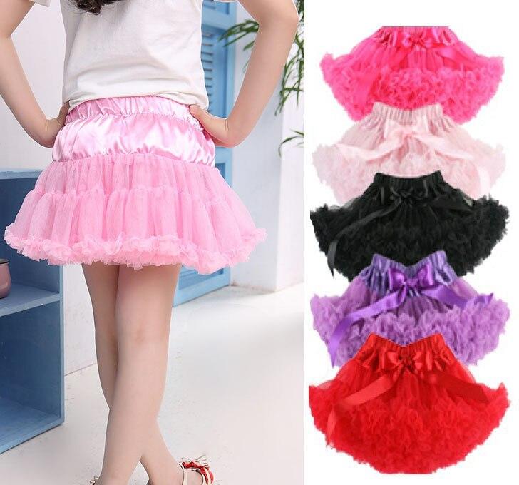 Kids Girls Tutu Skirt Multi List Pettiskirt Dancewear