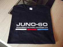 RETRO SYNTH T SHIRT SYNTHESIZER DESIGN JUNO 60 COLOUR Print T Shirt Mens Short Sleeve Hot Tops Tshirt Homme(China)