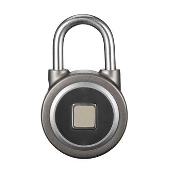 Smart Fingerprint Lock Waterproof Bluetooth Phone APP Keyless Anti-theft Padlock Suitcase Door Lock Support 16 Fingerprints 1