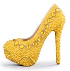 Online Buy Wholesale designer gold heels from China designer gold