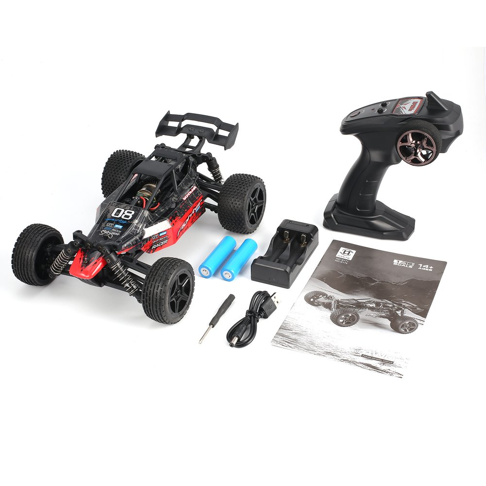 G171 G172 1/16 RC car 2.4G 4WD 36km/h Strong Power Motor Racing RC Car Off-Road Desert Truck Model Toys For Children GiftG171 G172 1/16 RC car 2.4G 4WD 36km/h Strong Power Motor Racing RC Car Off-Road Desert Truck Model Toys For Children Gift
