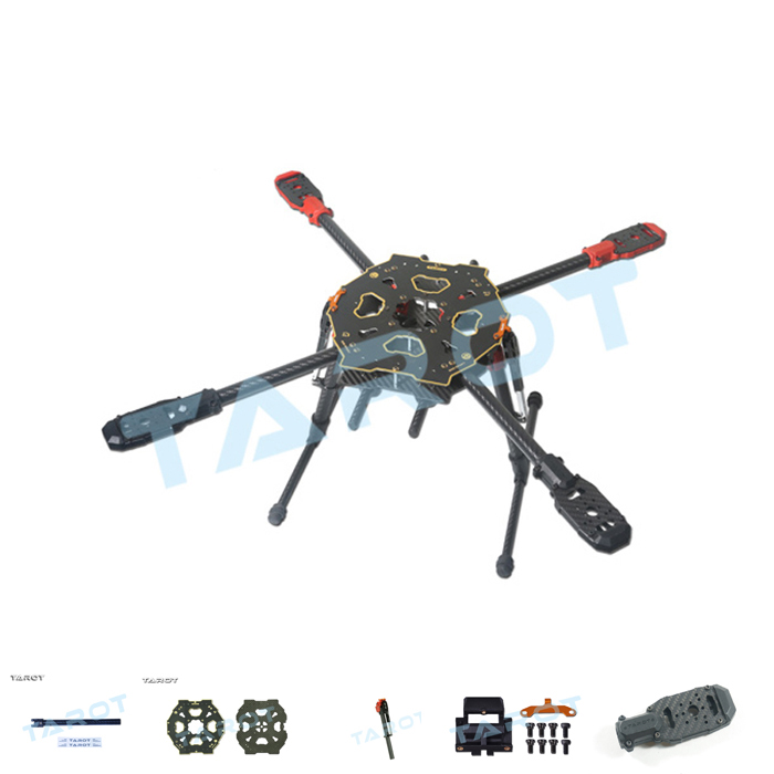 Tarot 650 Sport Quadcopter Carbon Fiber Frame Parts Drone ...