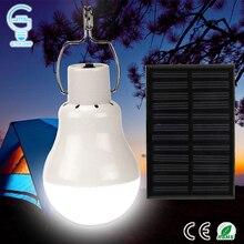 Портативная солнечная лампа 15 Вт 130LM солнечной энергии светодиодные лампы 5 Вт, светодиодные лампы для кемпинга на открытом воздухе световая палатка Солнечная лампа