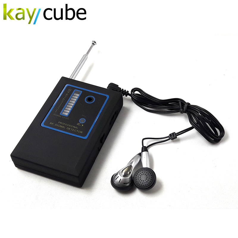 Kaycube New Sensitive 10 LED Signal Hidden RF Signal Detector for Detecting Wireless Camera/Mobile Phone/Earphone/Walkie Talkies one pair of walkie talkies with strong long range signal