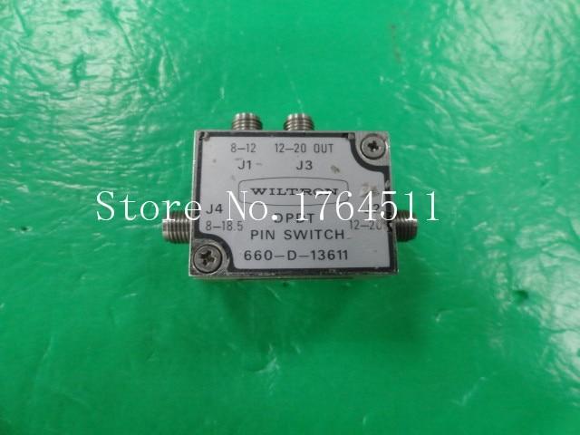 [BELLA] WILTRON 660-D-13611 8-20GHz DPDT RF Electronic - 2.92mm