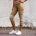 Leggings moda Para la Mujer 2017 Primavera Remiendo de la Impresión Offset Entrenamiento de la Aptitud Ocasional Delgado Leggings Pantalones Lápiz Flaco Legins