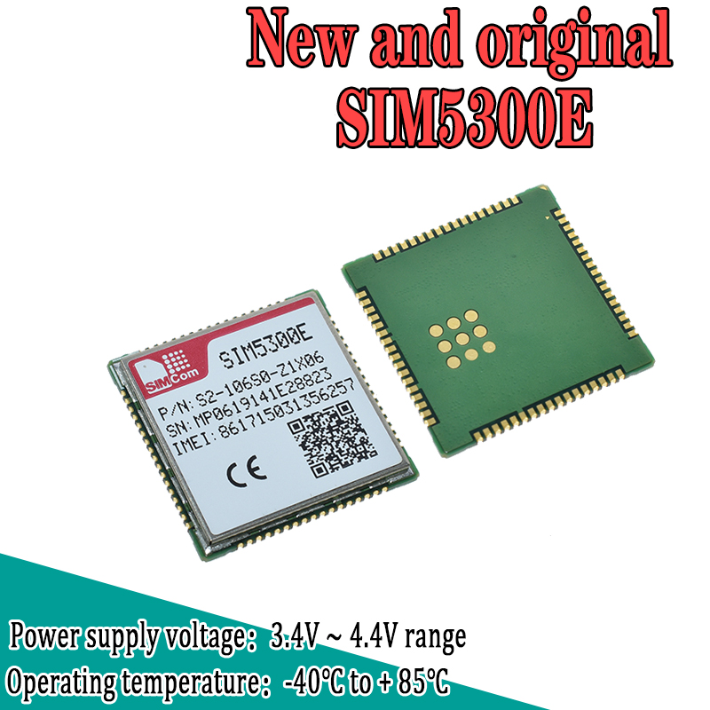 WAVGAT SIM5300E SMT type 3G replace SIM900A HSPA/WCDMA Dual-band in stock ship out immediately