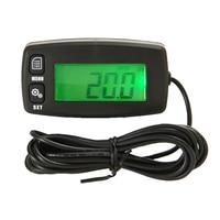 Waterproof Tachometer Backlit Digital Display Hour Meter for Motocycle 2/4 Stroke Engines M8617