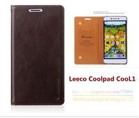 Top Quality Genuine Leather Stand Fashion Book Style Phone Case For Letv LeEco COOL1 Dual LeEco